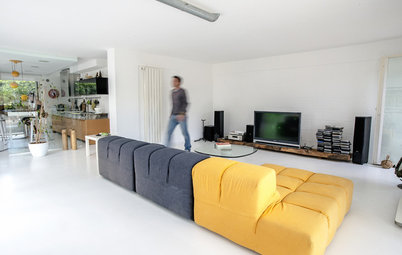Houzz Tour: A Garage Becomes a Bright, Clean Apartment