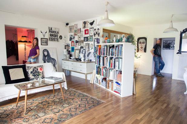 Ecléctico Sala de estar by Marco Zanin