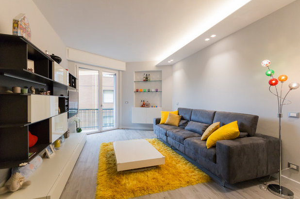 Contemporary Living Room by Marco Cassottana Architetto