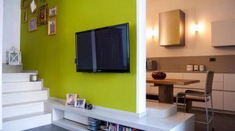 Home relooking di villetta residenziale
