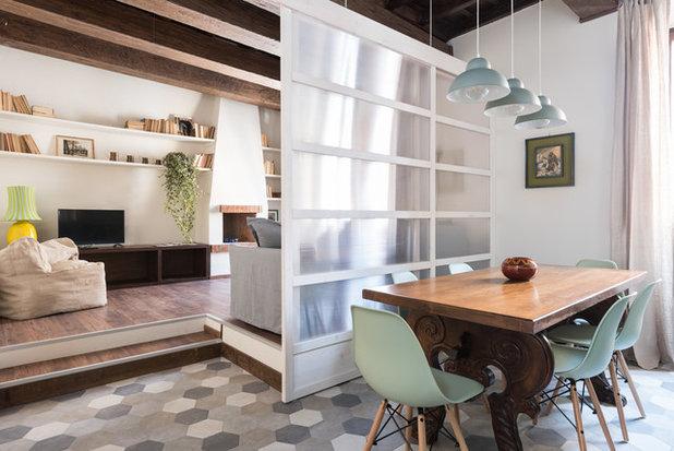 Mediterranean Living Room by Caterina Raddi Architetto