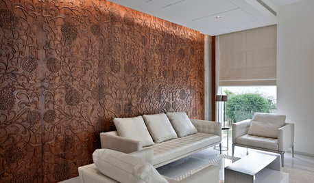 9 Stunning Wall Treatments for Living Rooms