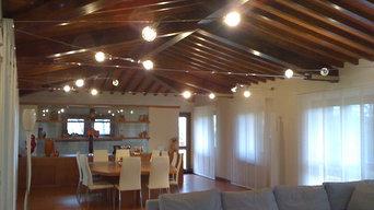 Illuminazione villa privata