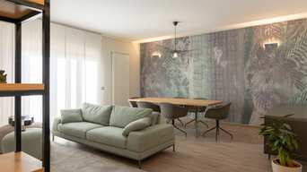 INTERIOR DESIGN - nuovo living soft green