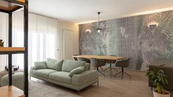 INTERIOR DESIGN - nuovo living soft green