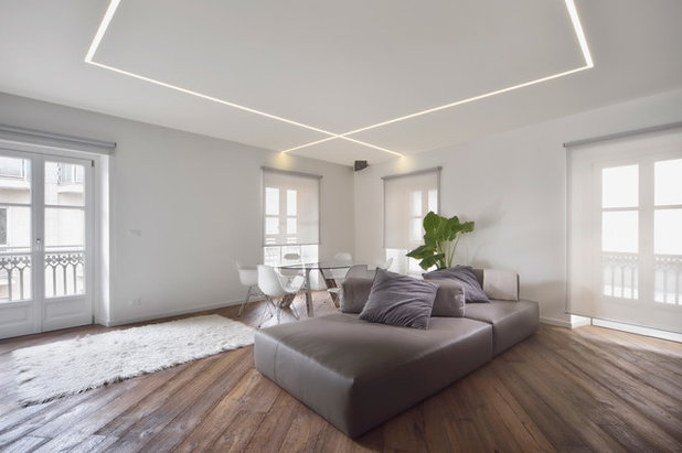 Contemporary Living Room by gianfranco roselli fotografo