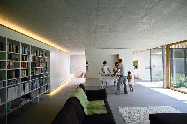 Modern Wohnbereich by elanandez