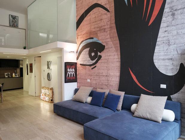 Contemporaneo Salotto by Studio di Architettura | Pop Ark