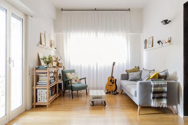 Contemporary Family Room by Incognito Studio