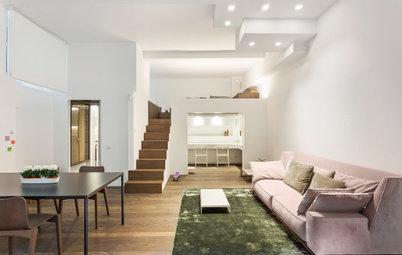 Un Seminterrato si Trasforma da Ufficio ad Appartamento