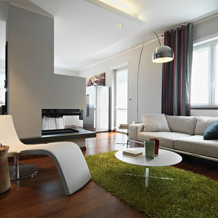 Houzz 50 best modern living space pictures modern for Soggiorni moderni con camino