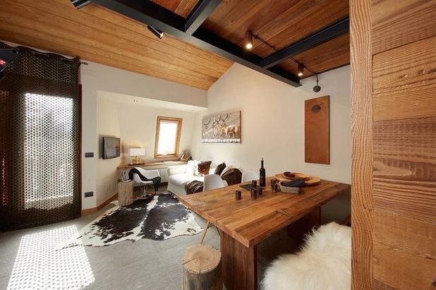 In Montagna Soggiorno By Design Alpino