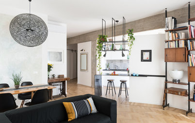 My Houzz: Bright and Eclectic Apartment in Rome