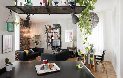 Houzz Tour: Industriel vintage gør arkitektens hjem personligt