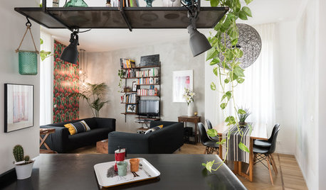 My Houzz: A Small Space Cleverly Reinvented as a Light, Cosy Home