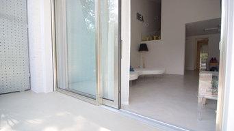 Pavimenti in cemento indoor-outdoor