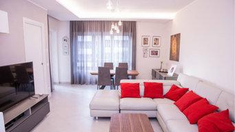 Progettazione e ristrutturazione appartamento Roma rif. ALB