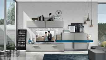 Progetto abitazione privata con cucina laccata lucida