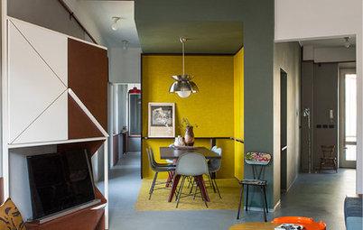Due Architetti alle Prese con Un Appartamento a Pianta Irregolare
