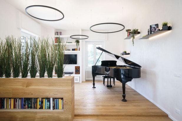 Contemporaneo Soggiorno by Brain Factory - Architecture & Design