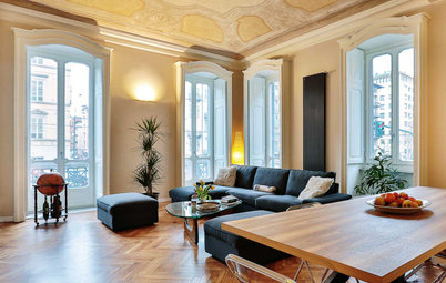 Houzz Tour: Classical Meets Contemporary in an Italian Apartment