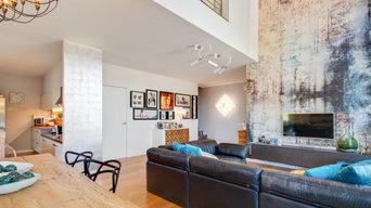 Relooking di una casa a due piani con soppalco | 200 MQ