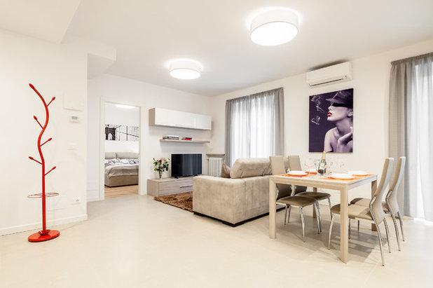 Contemporary Living Room by Idea Casa Plan