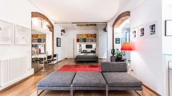 RISTRUTTURAZIONE appartamento a Milano in collaborazione con l'Arch. R. Catozzi