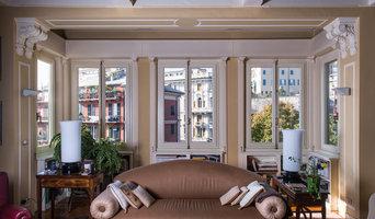 Ristrutturazione casa in centro Genova - Finestre in legno e alluminio