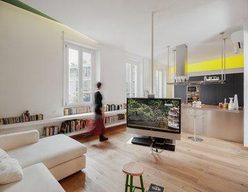 Ristrutturazione di un appartamento privato a Roma