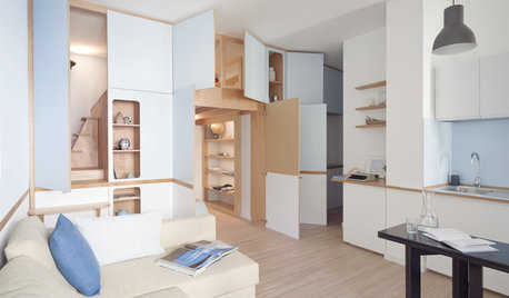 Houzz Tour: A Studio Converts Into a Two-Room Apartment