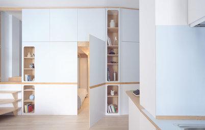 Da Mono a Bilocale: Dividere 35 m² con una Parete Attrezzata