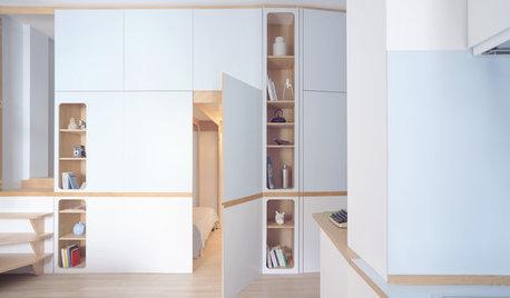 До и после: Студия с двумя спальнями... в шкафу