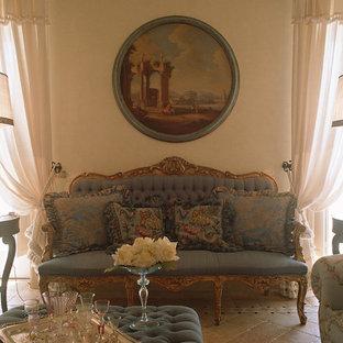 Salotto appartamento al mare Isola di Capri