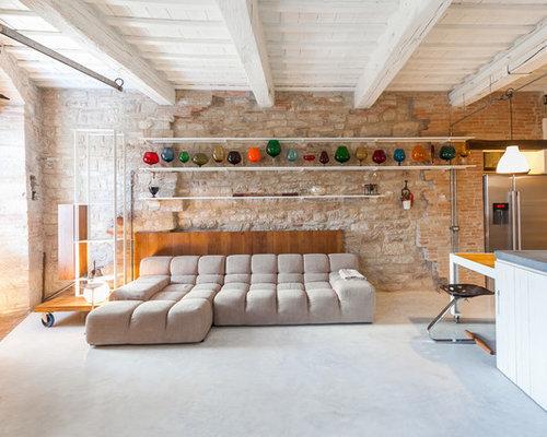 Soggiorno con pareti beige - Foto e Idee per Arredare