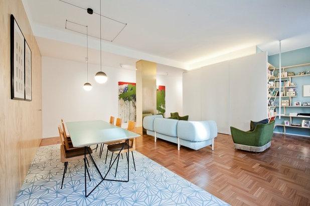 Skandinavisch Wohnzimmer by co.arch studio