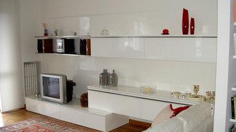 Tabula rasa - parete attrezzata soggiorno