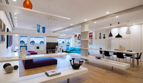 Cómo usar estanterías abiertas para dividir ambientes en casa