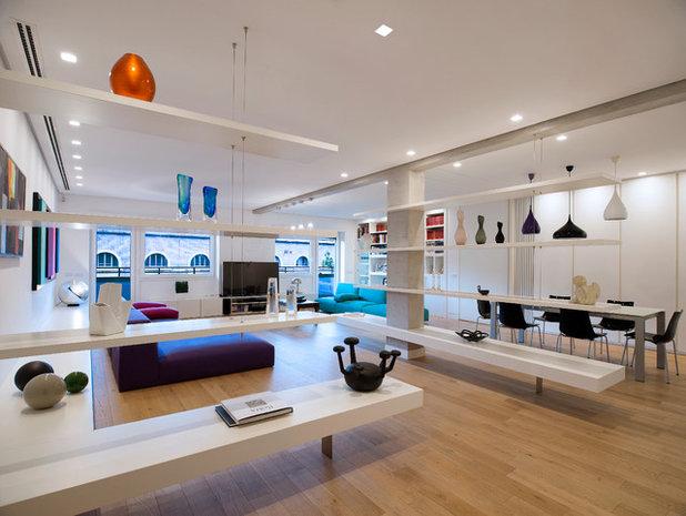 Contemporáneo Sala de estar by Arabella Rocca Design