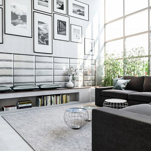 Two Modern Lofts - Industrial-chic Style
