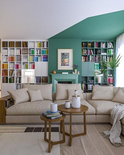 Modern Wohnbereich by Liadesign