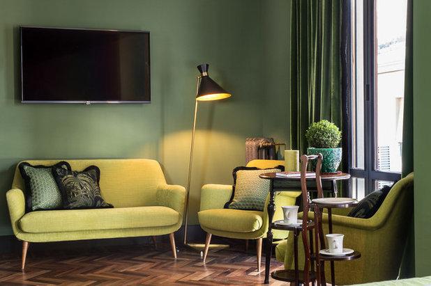 Eclectic Family Room by Francesca Pagliai Studio Fotografico