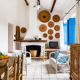 Esempio di un soggiorno mediterraneo