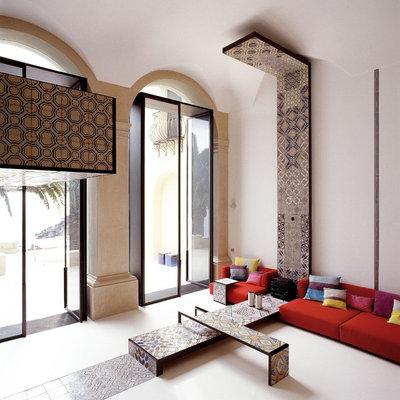 Eclettico Soggiorno by Lazzarini Pickering Architetti