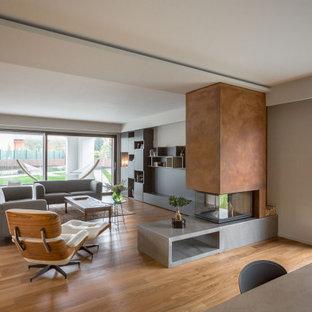 Idee per un soggiorno minimal