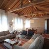 Architektur: Eichen-Einbaubox für ein Apartment am Comer See