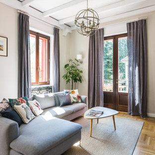 Idee per un grande soggiorno minimal