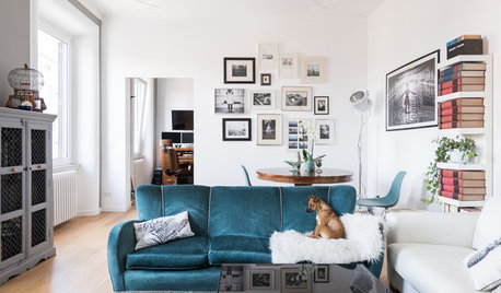 My Houzz: A Light-filled Apartment Full of Creative Character