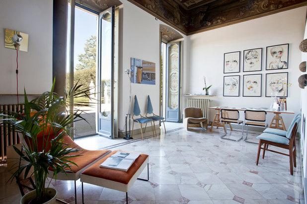 Mid-Century Wohnbereich by Cristina Cusani