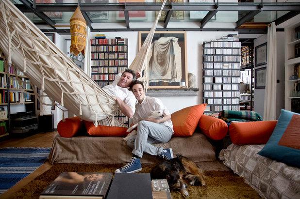 Sognare Soffitti Alti : My houzz da ex scuola a casa galleria con soffitti alti metri